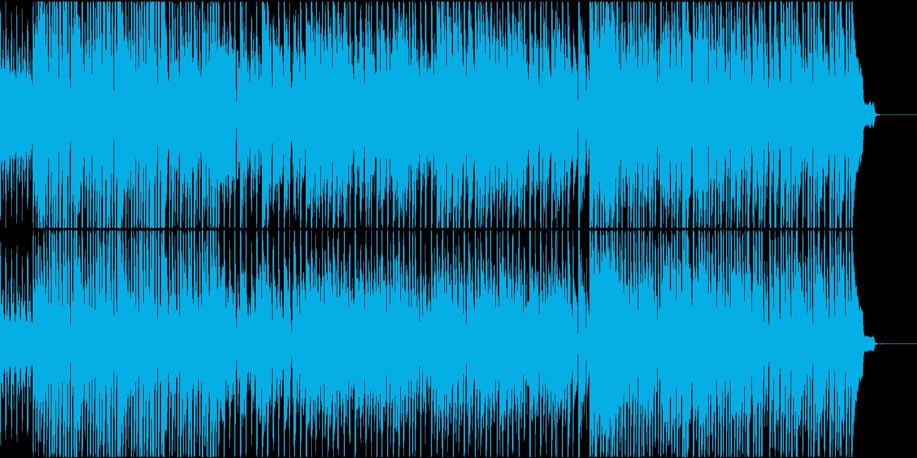パズルゲーム向けゆるゆる系OPテーマの再生済みの波形