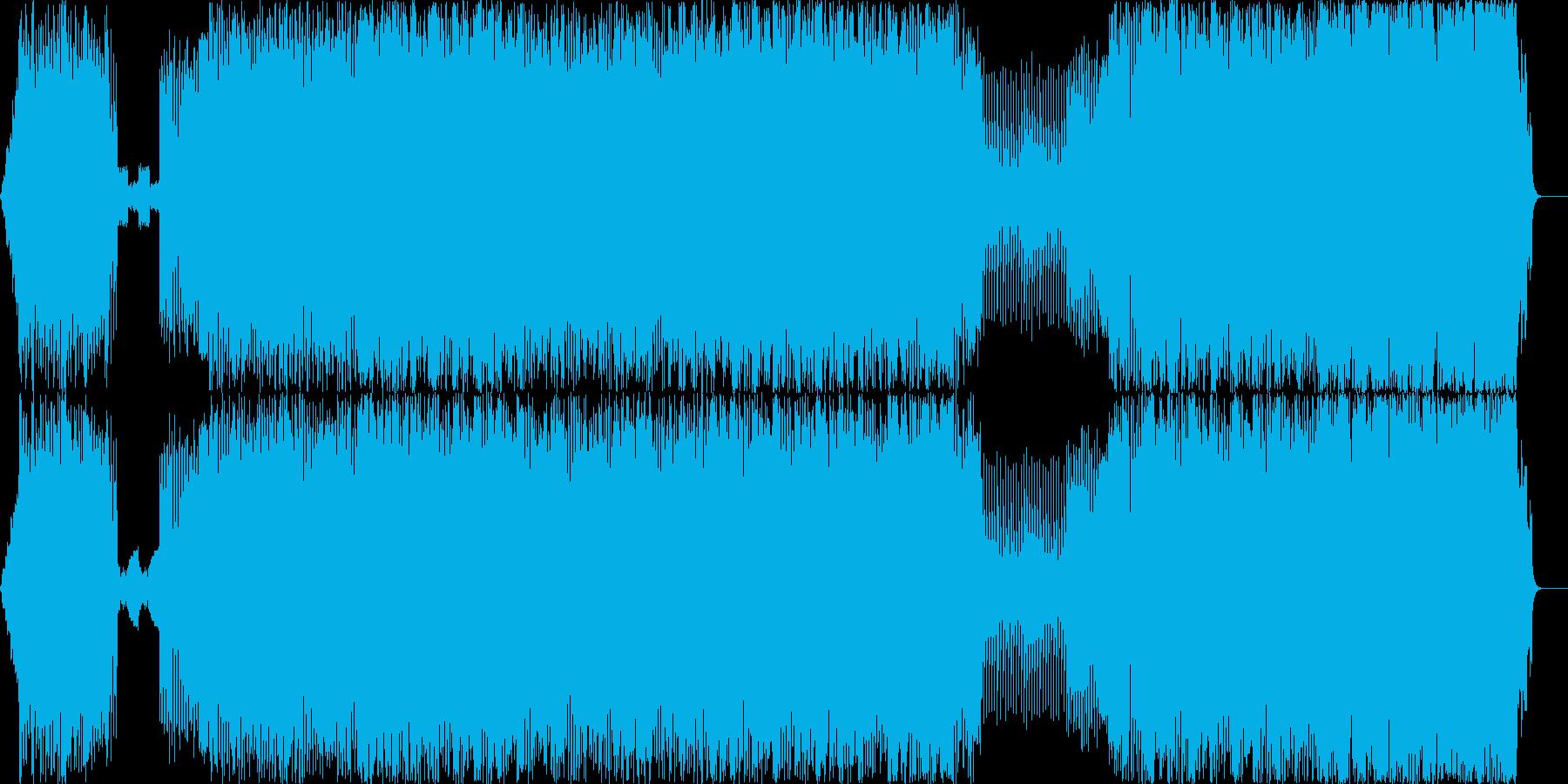 力強く哀愁があるバイオリンEDMの再生済みの波形
