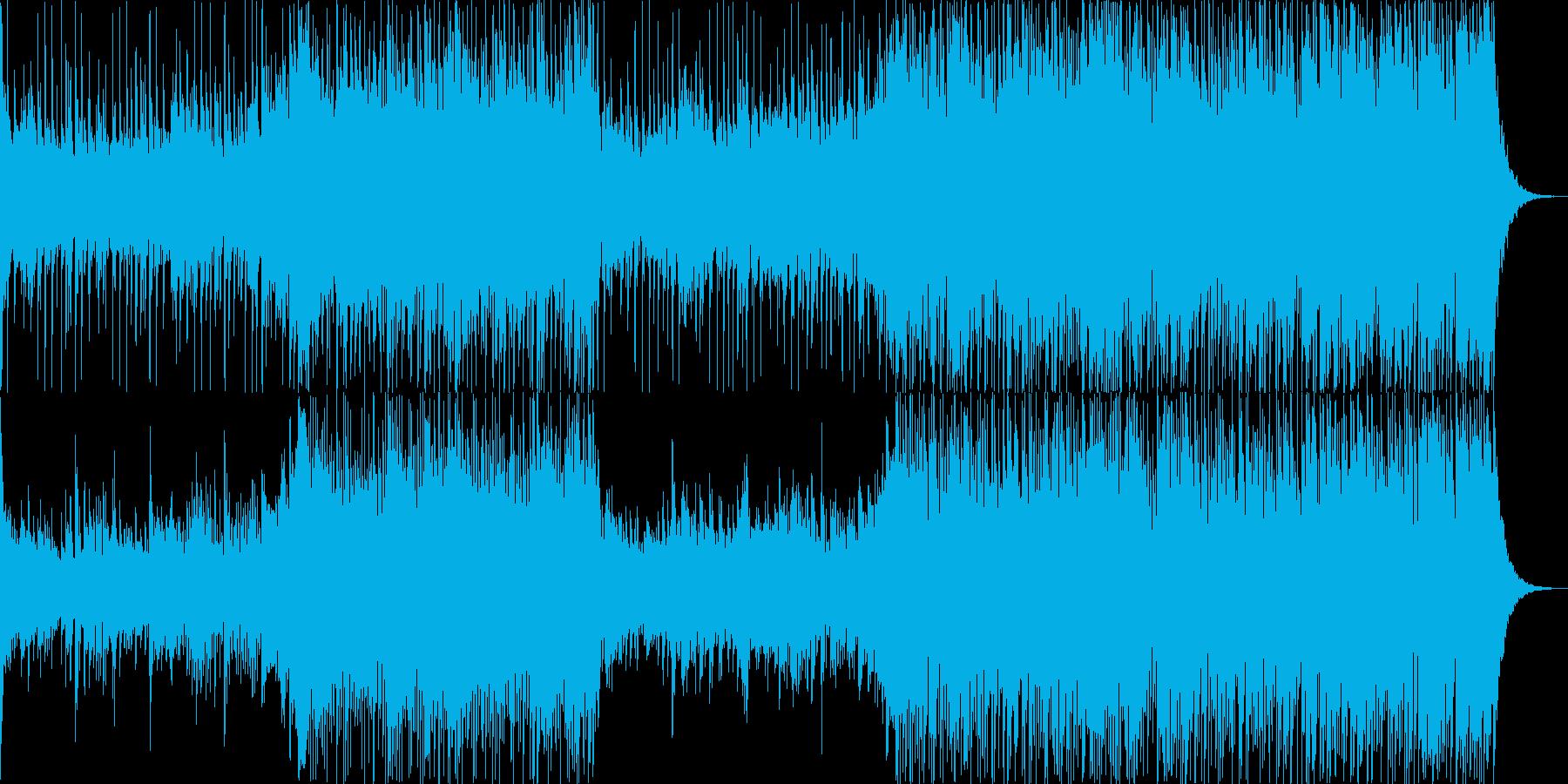 フランス語の造語を駆使した神秘的な楽曲の再生済みの波形