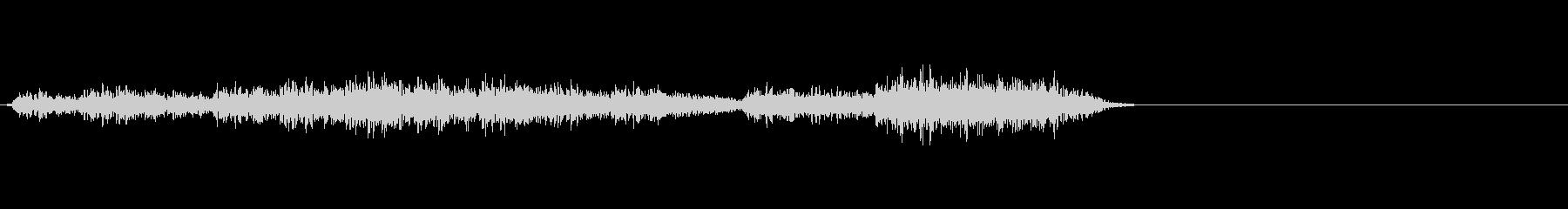 魔法 雷系などに適した効果音の未再生の波形