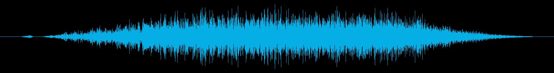 スワイプ/キャンセル/システム系サウンドの再生済みの波形