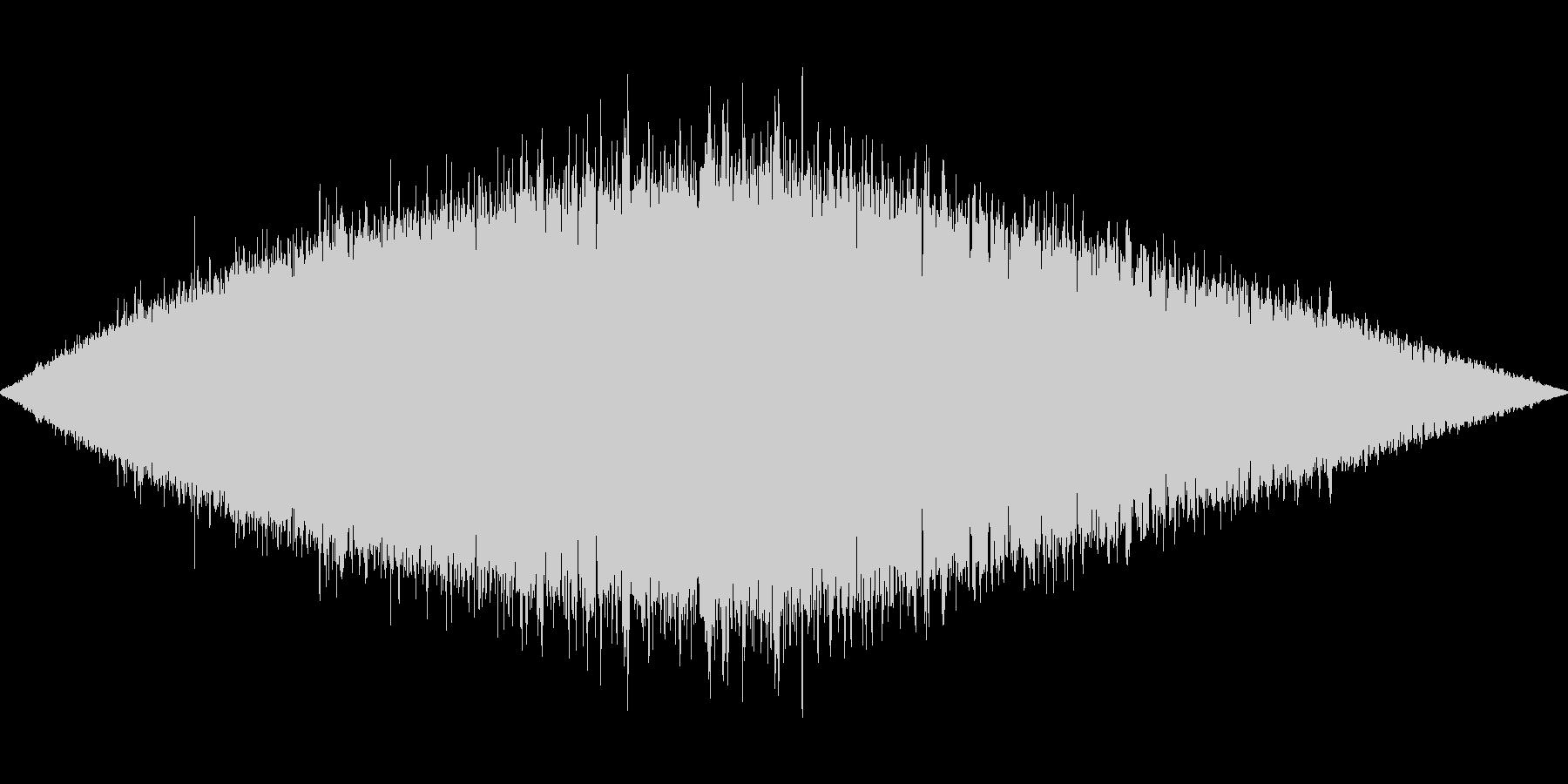 プーイプーイプーイプーイの未再生の波形