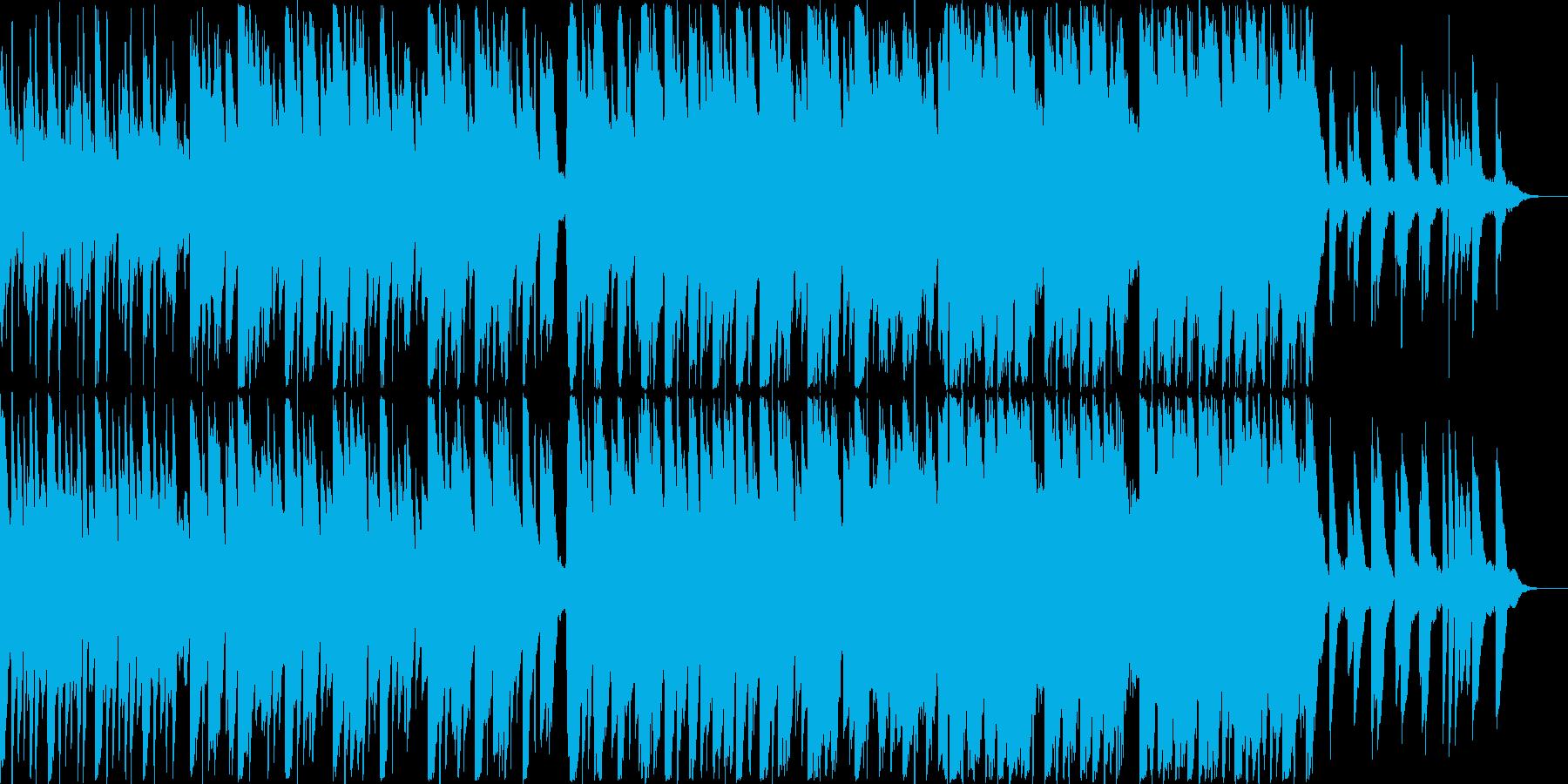 ピアノがメインのエレクトロニカの再生済みの波形