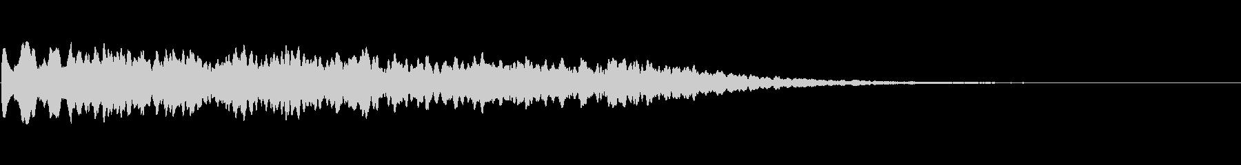キーン (電子音)の未再生の波形