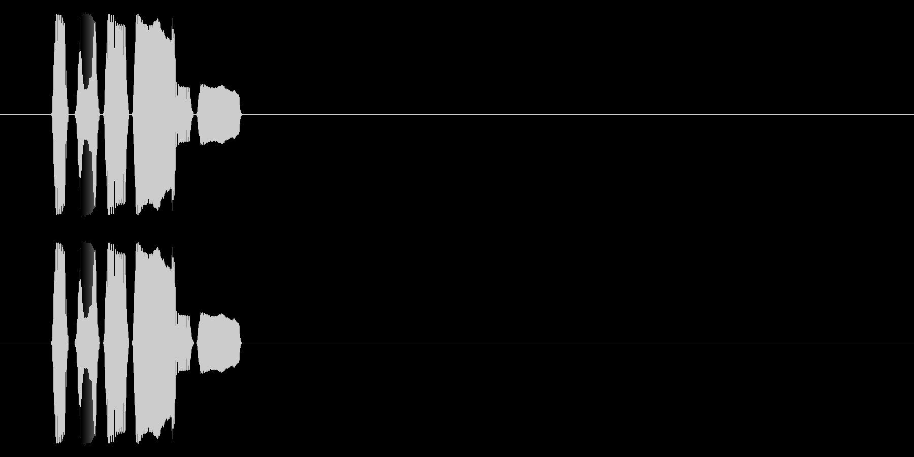 SNES 野球01-12(選択)の未再生の波形