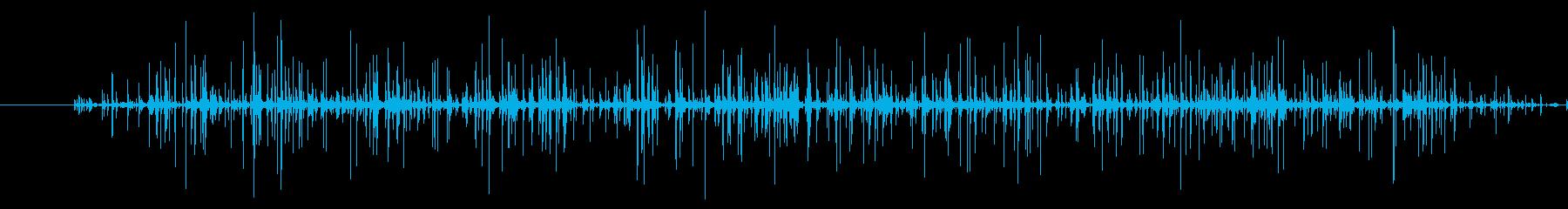 湧き水が落ちる音 チョロ チョロ ---の再生済みの波形