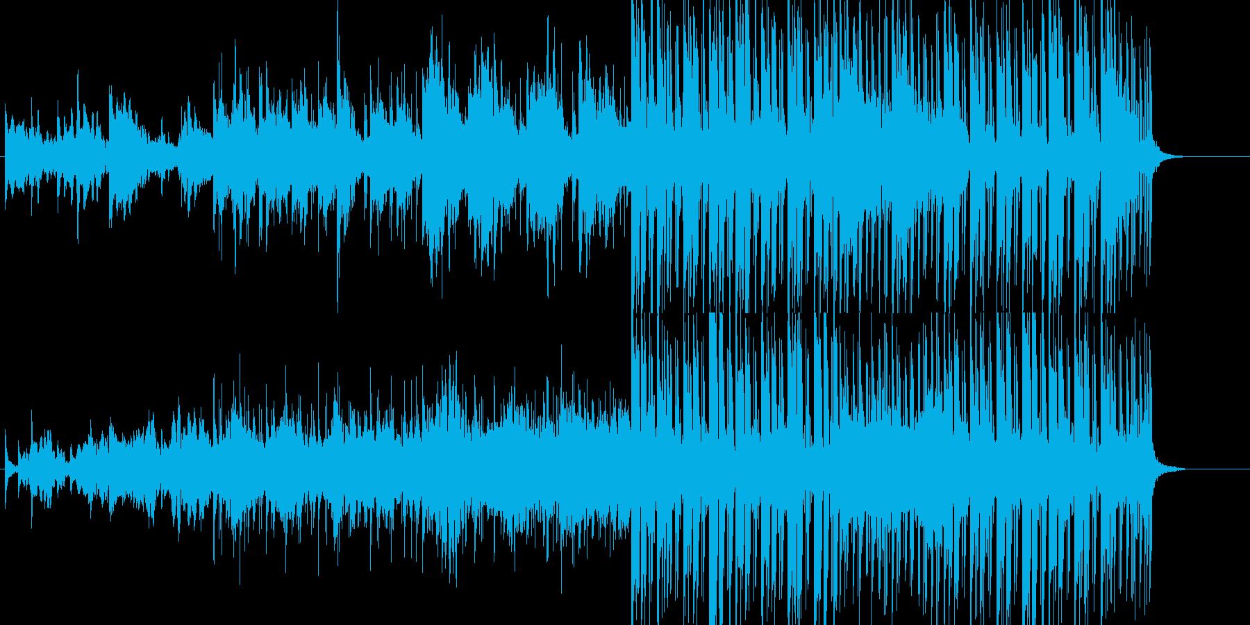 淡々 不思議 緊張 無機質 スリルの再生済みの波形