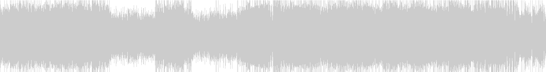 ポップロック②ハード/スピード【ループ】の未再生の波形