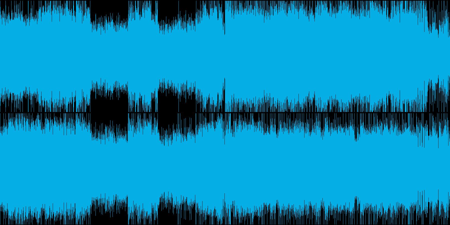 ポップロック②ハード/スピード【ループ】の再生済みの波形
