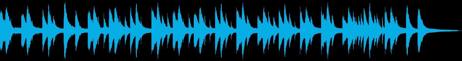 切ない浮遊感のあるピアノソロの再生済みの波形