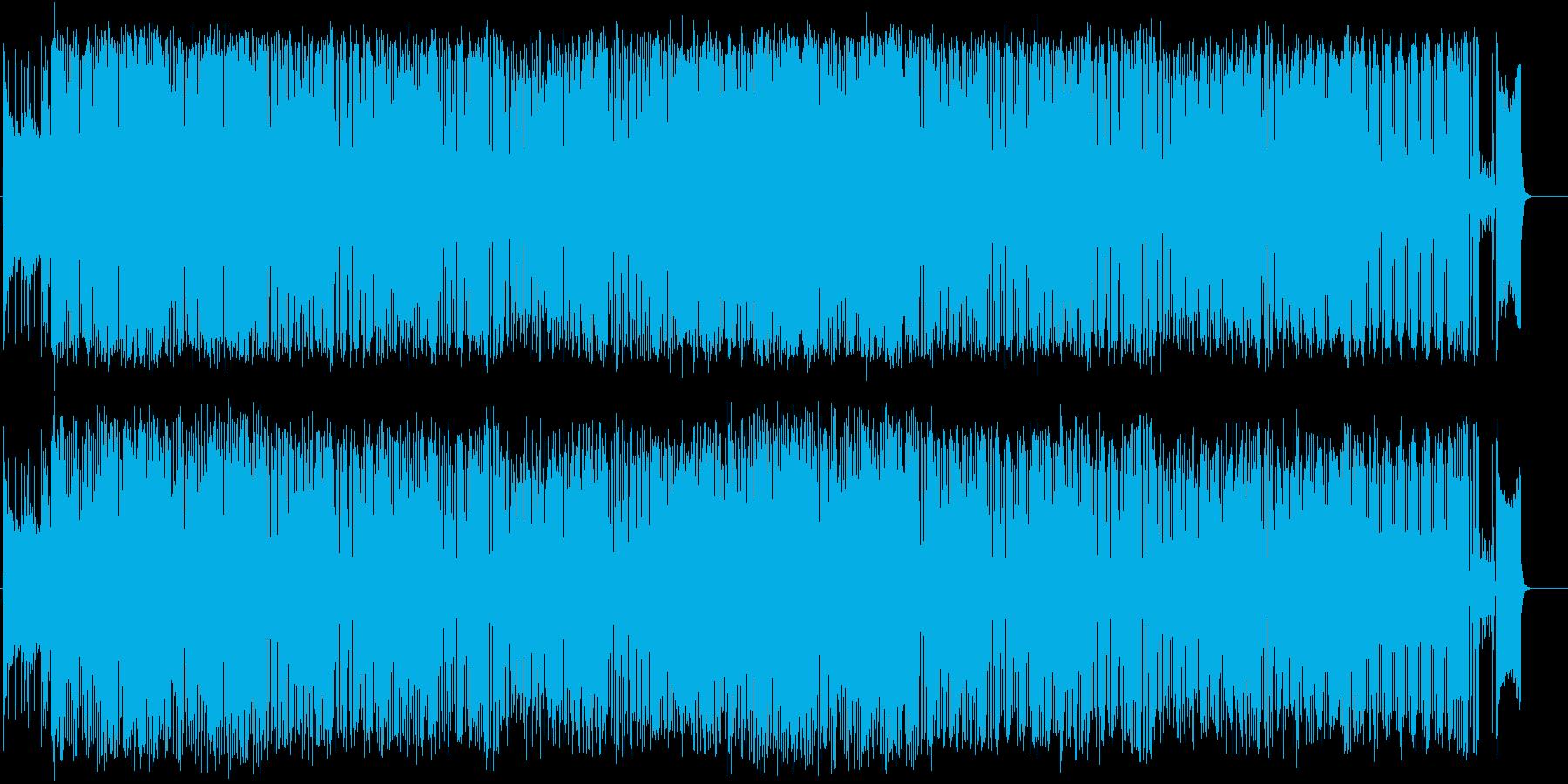 ファンク 都会 流行 躍動 あやしいの再生済みの波形