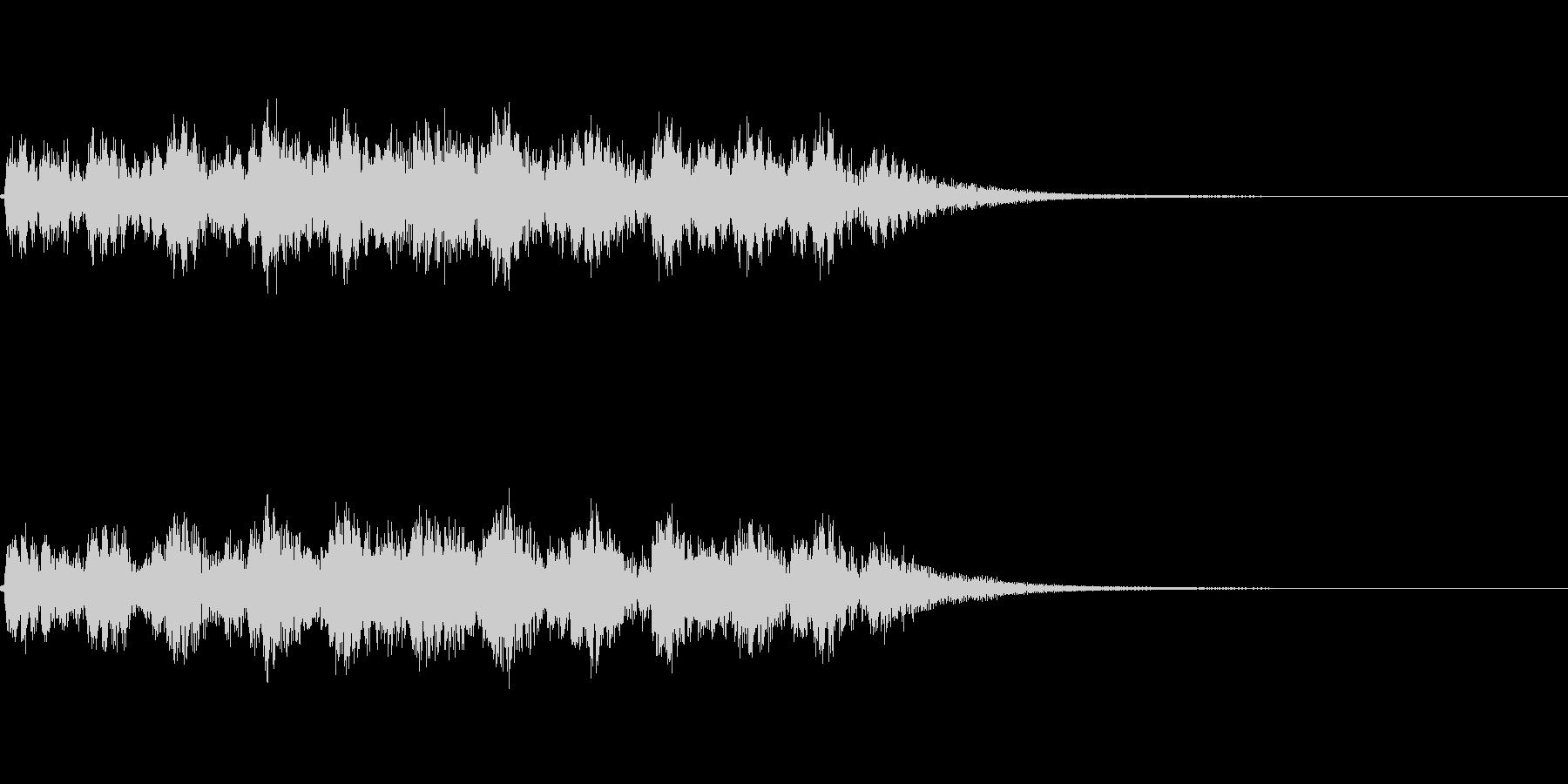 ドンドンパフパフ_声有りの未再生の波形
