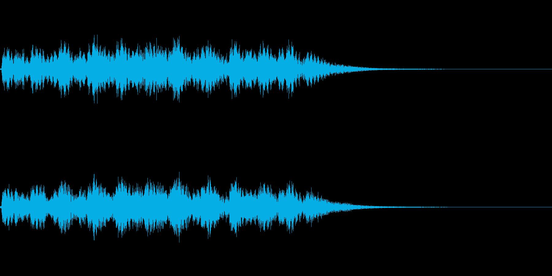 ドンドンパフパフ_声有りの再生済みの波形