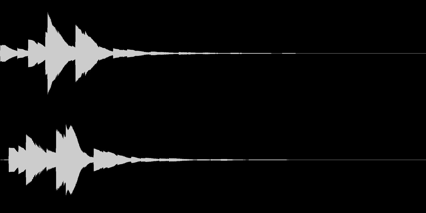 システム音17_シンセDZの未再生の波形