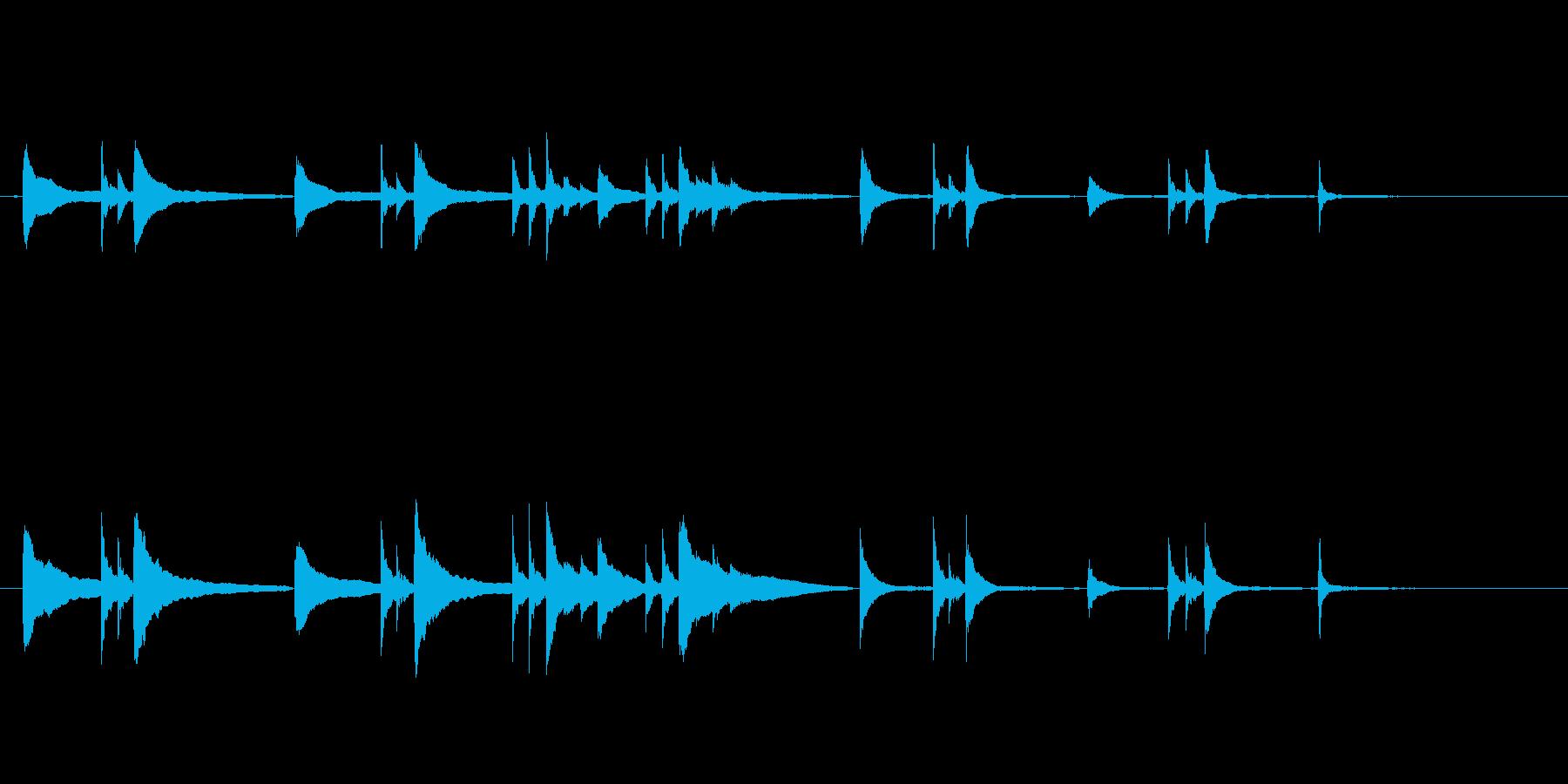 悩みや葛藤のシーンに使いたいピアノソロの再生済みの波形