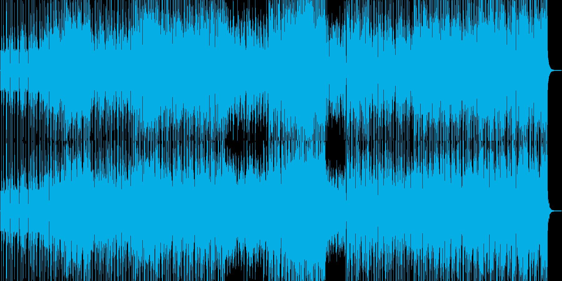 ユニークな民族ダンストラックの再生済みの波形