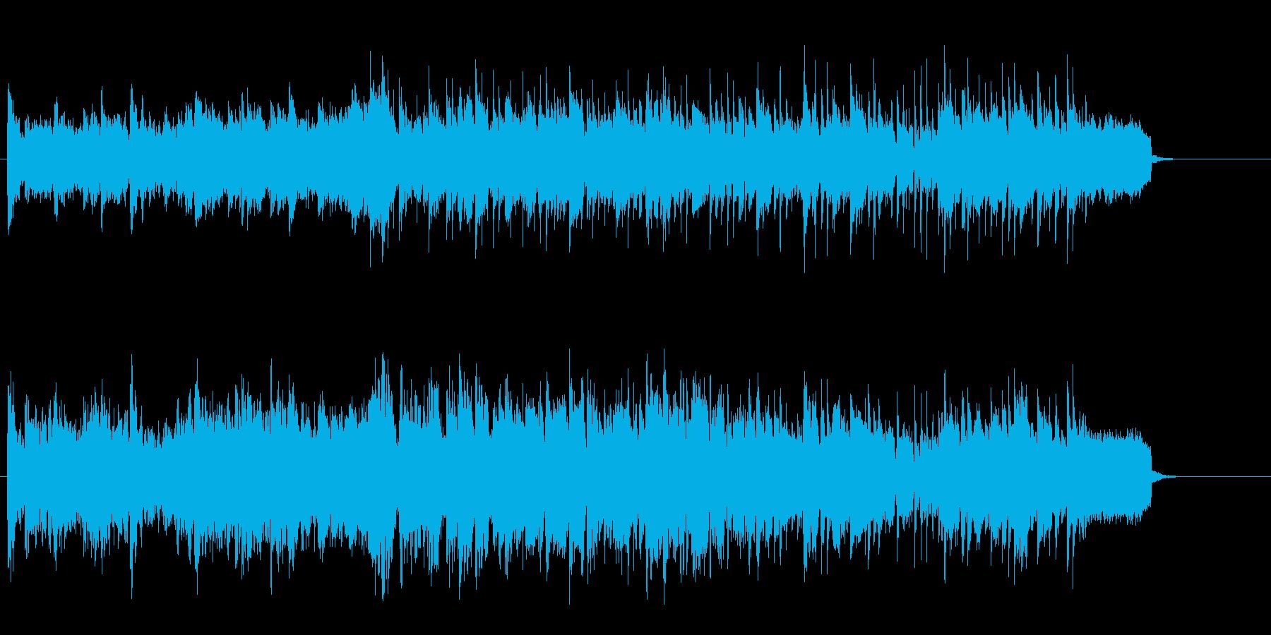 ペット、子供、ほのぼの家庭B.G.M.の再生済みの波形