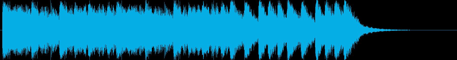 大迫力!壮大なフルオーケストラBGMの再生済みの波形