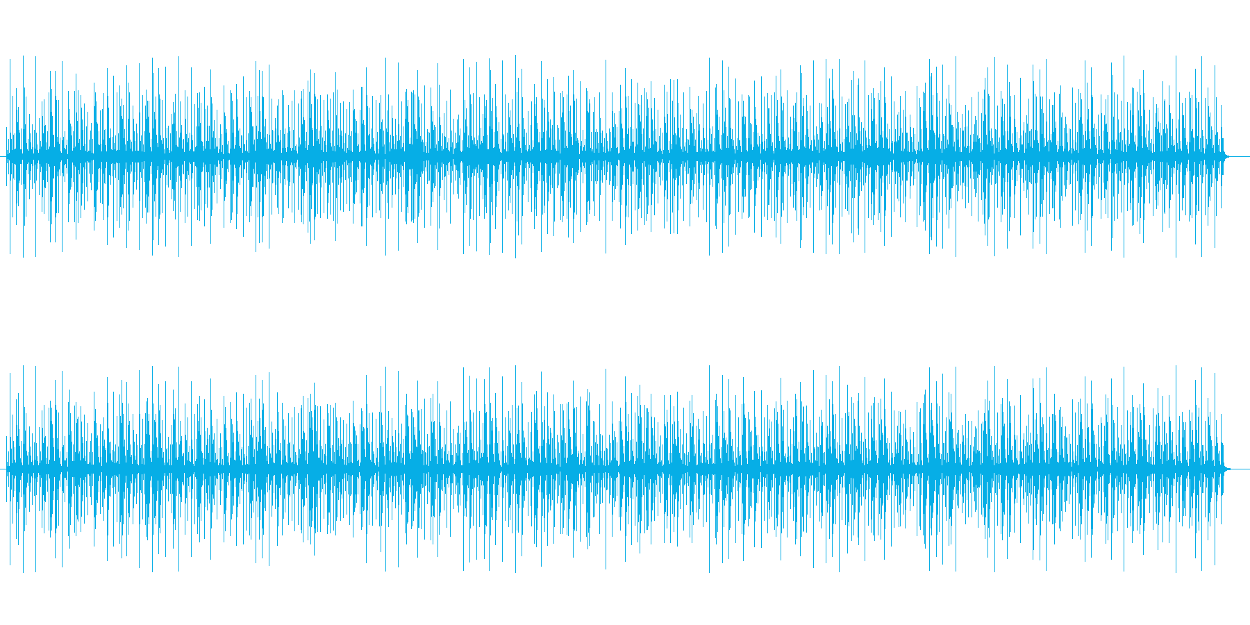 コンガのリズムBGM テンポ110ですの再生済みの波形