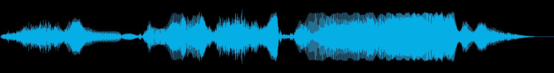 すごいすごいの再生済みの波形