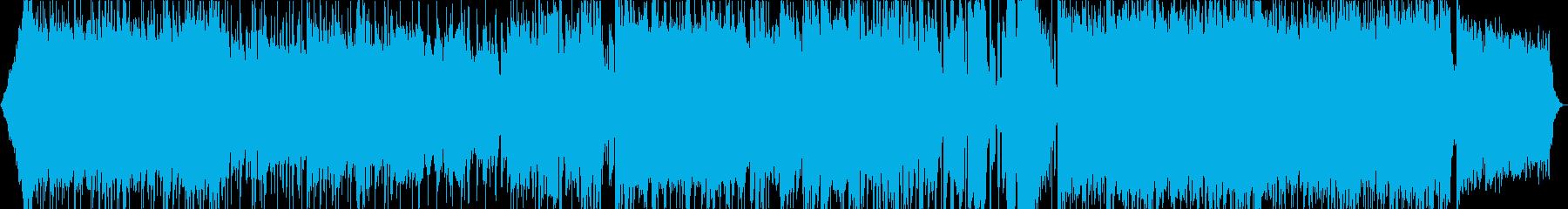 夏のイメージの軽快なポップロックです。の再生済みの波形