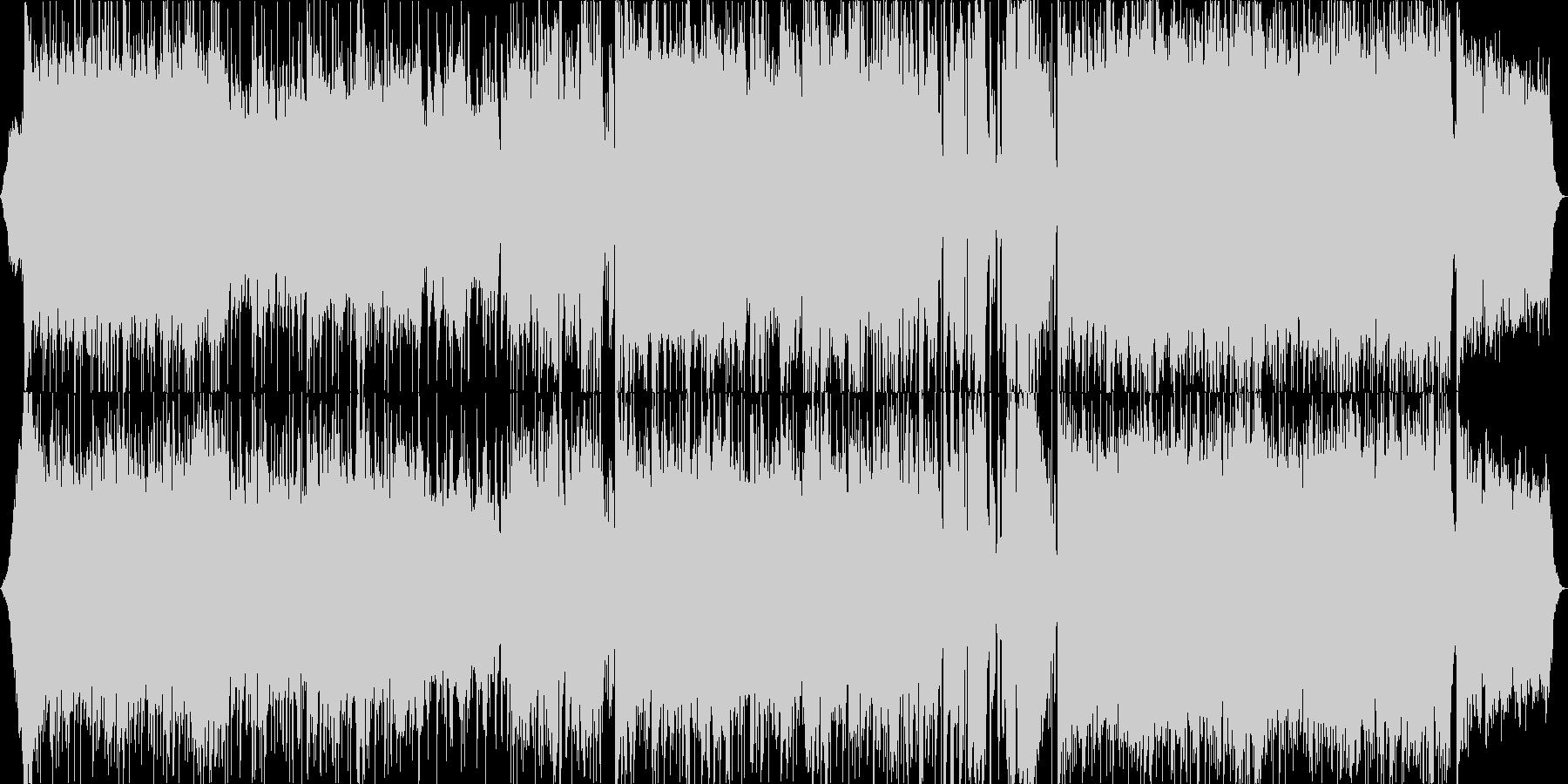 夏のイメージの軽快なポップロックです。の未再生の波形
