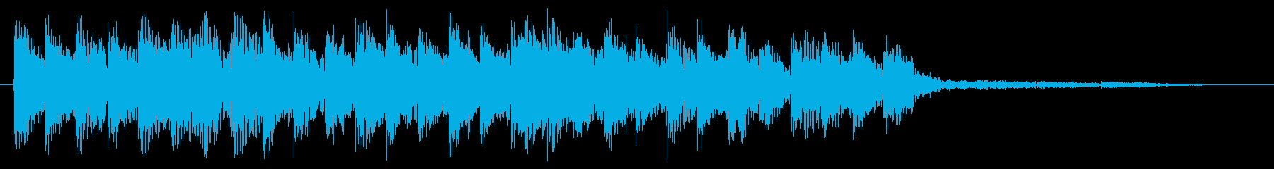 アラート 警告 注意 警戒 危ない 警報の再生済みの波形