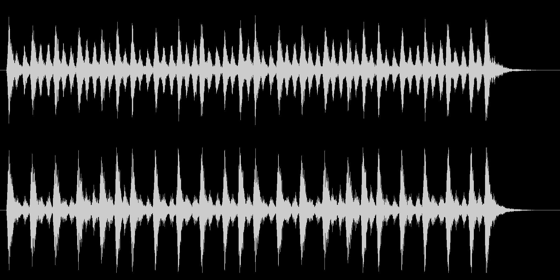 緊迫したオーケストラのジングルの未再生の波形