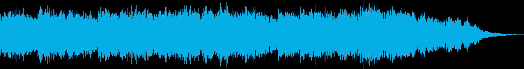 15秒CM用ピアノSEの再生済みの波形