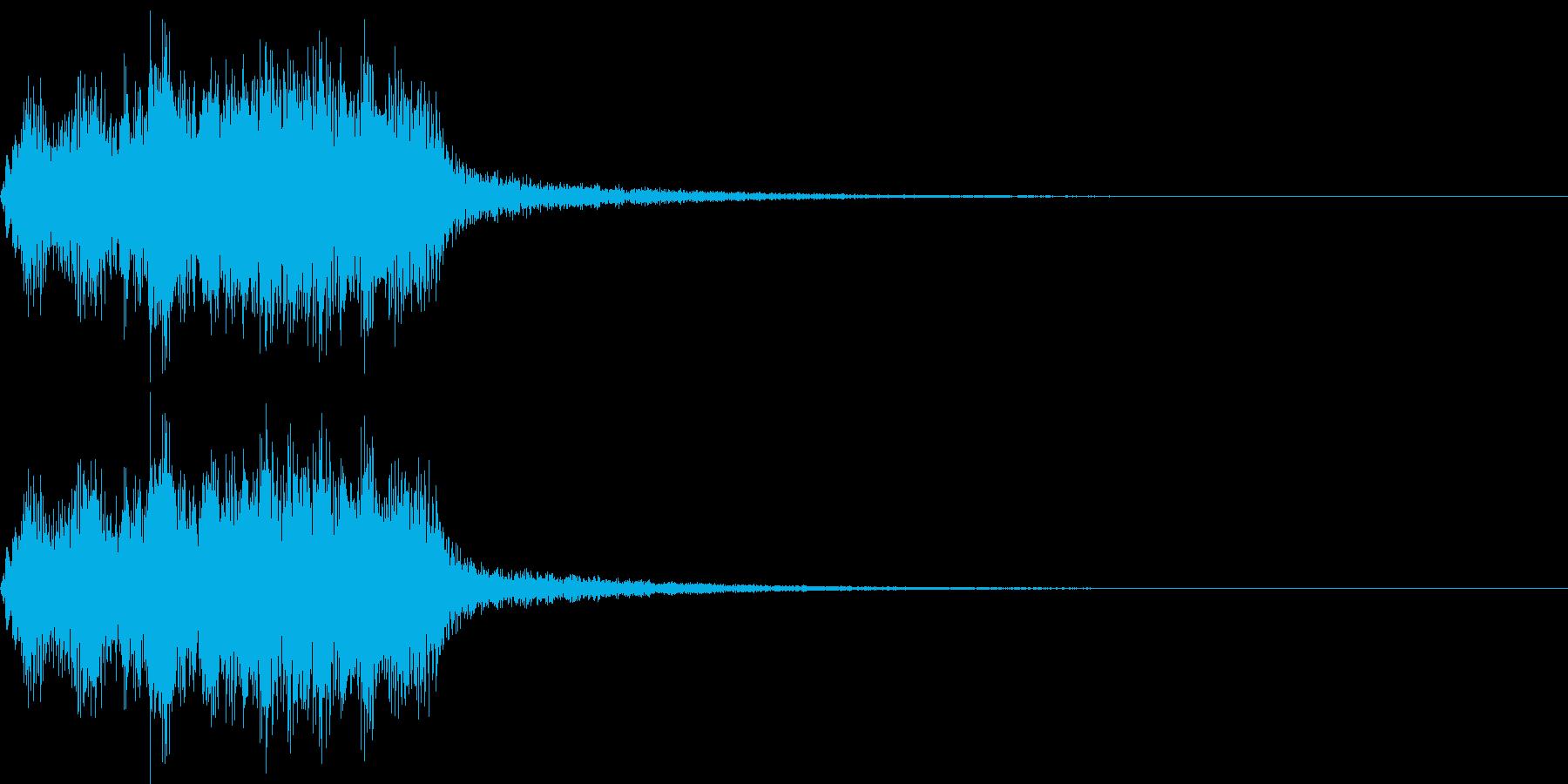 恐怖音10(バイオリン)の再生済みの波形