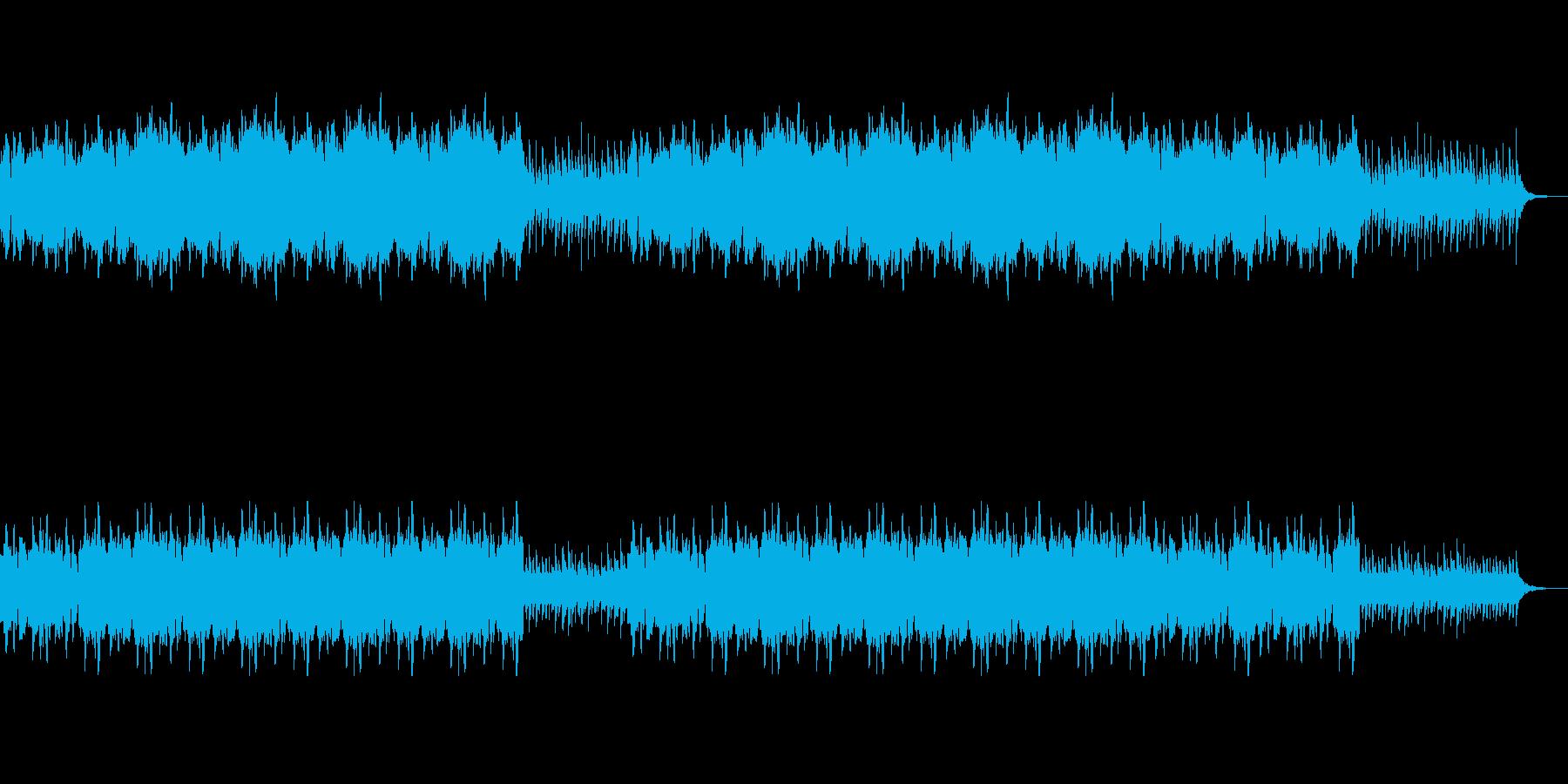 穏やかな優しいクラシカルヒーリングBGMの再生済みの波形