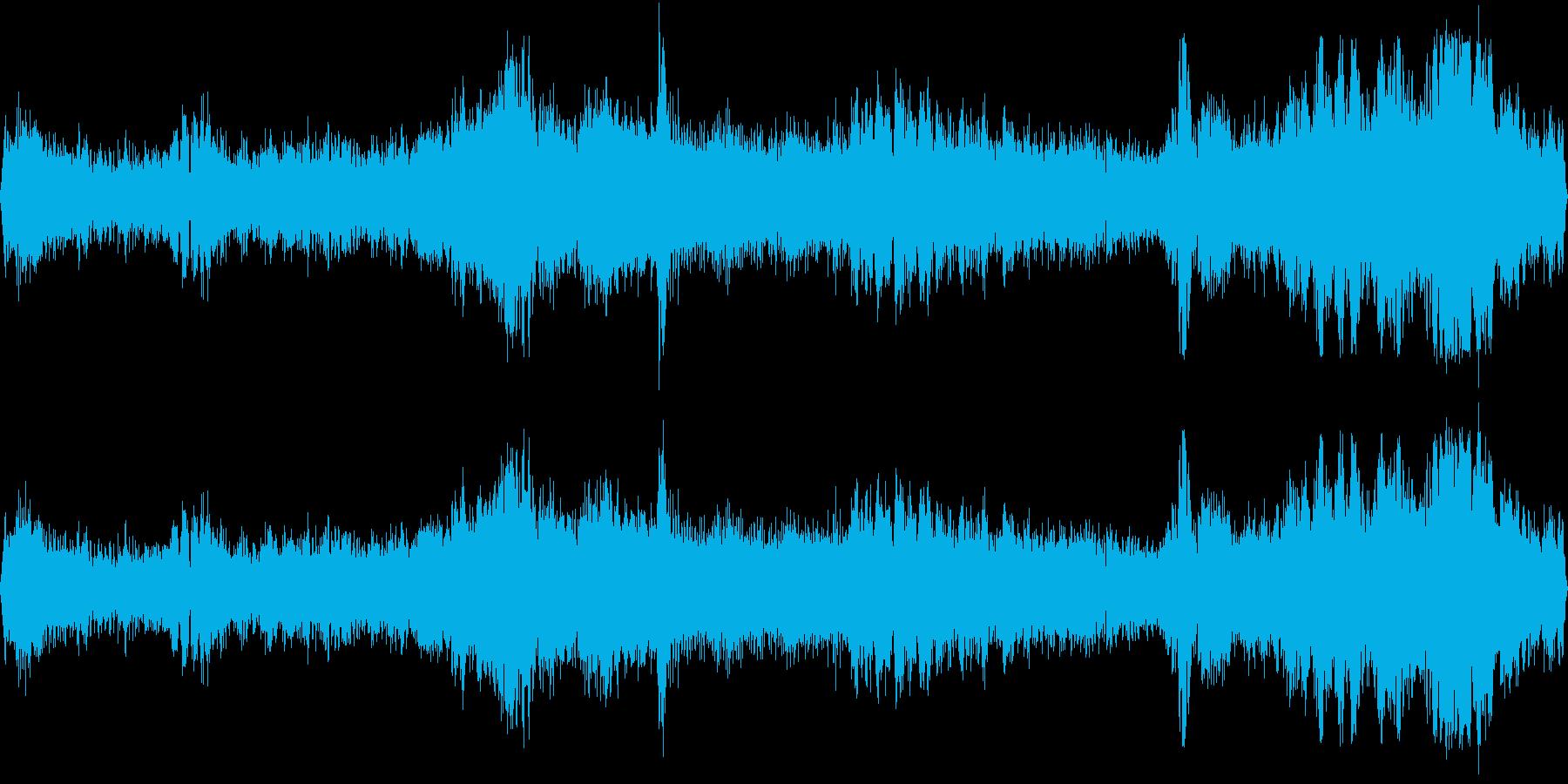 交差点(環境音)の再生済みの波形