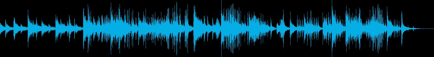 ドンブラとピアノのための瞑想曲の再生済みの波形