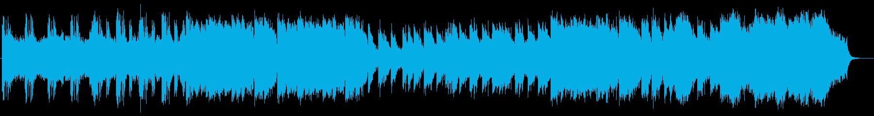繊細さと壮大さを兼ね備えたBGMサウンドの再生済みの波形