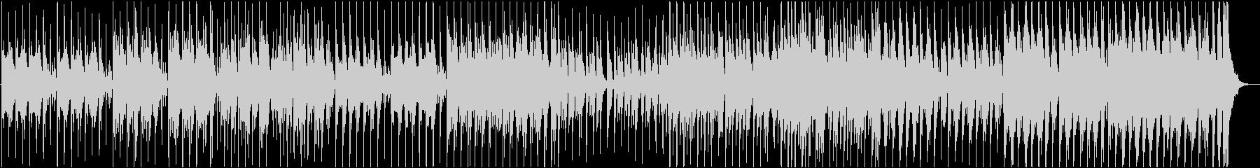 コミカルなマリンバ/ほのぼの/劇伴の未再生の波形