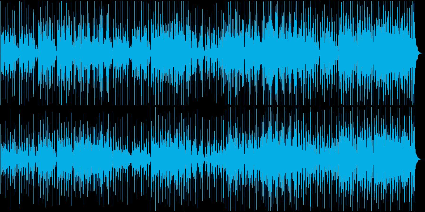 コミカルなマリンバ/ほのぼの/劇伴の再生済みの波形