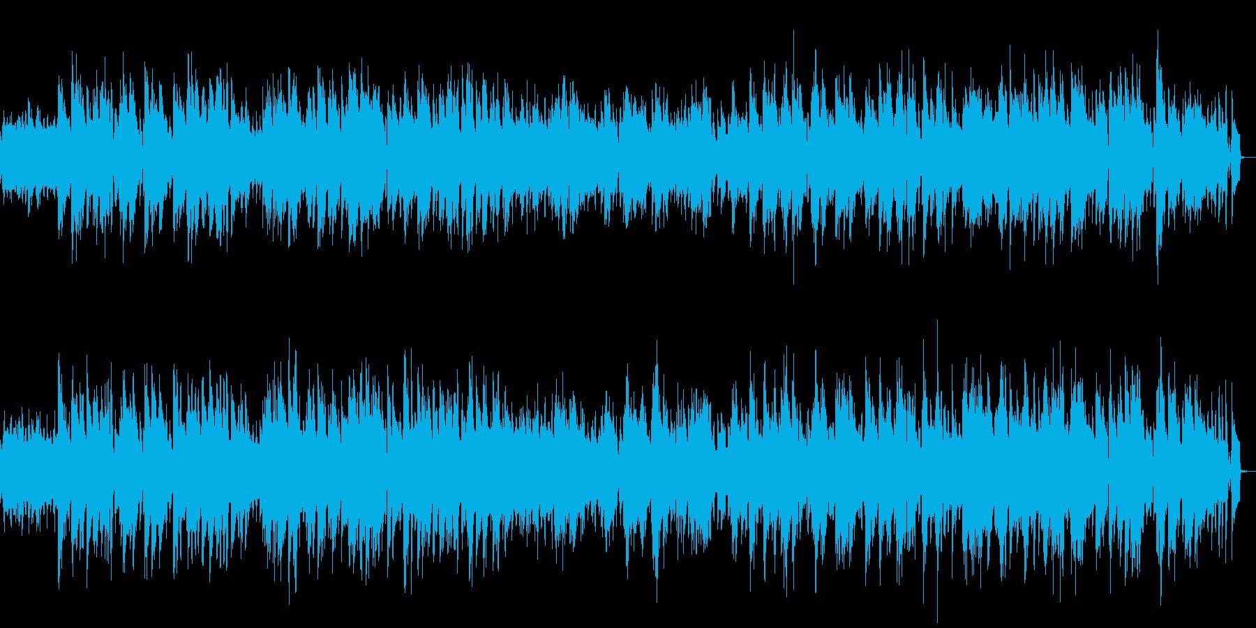物憂げなピアノのジャズバラードの再生済みの波形