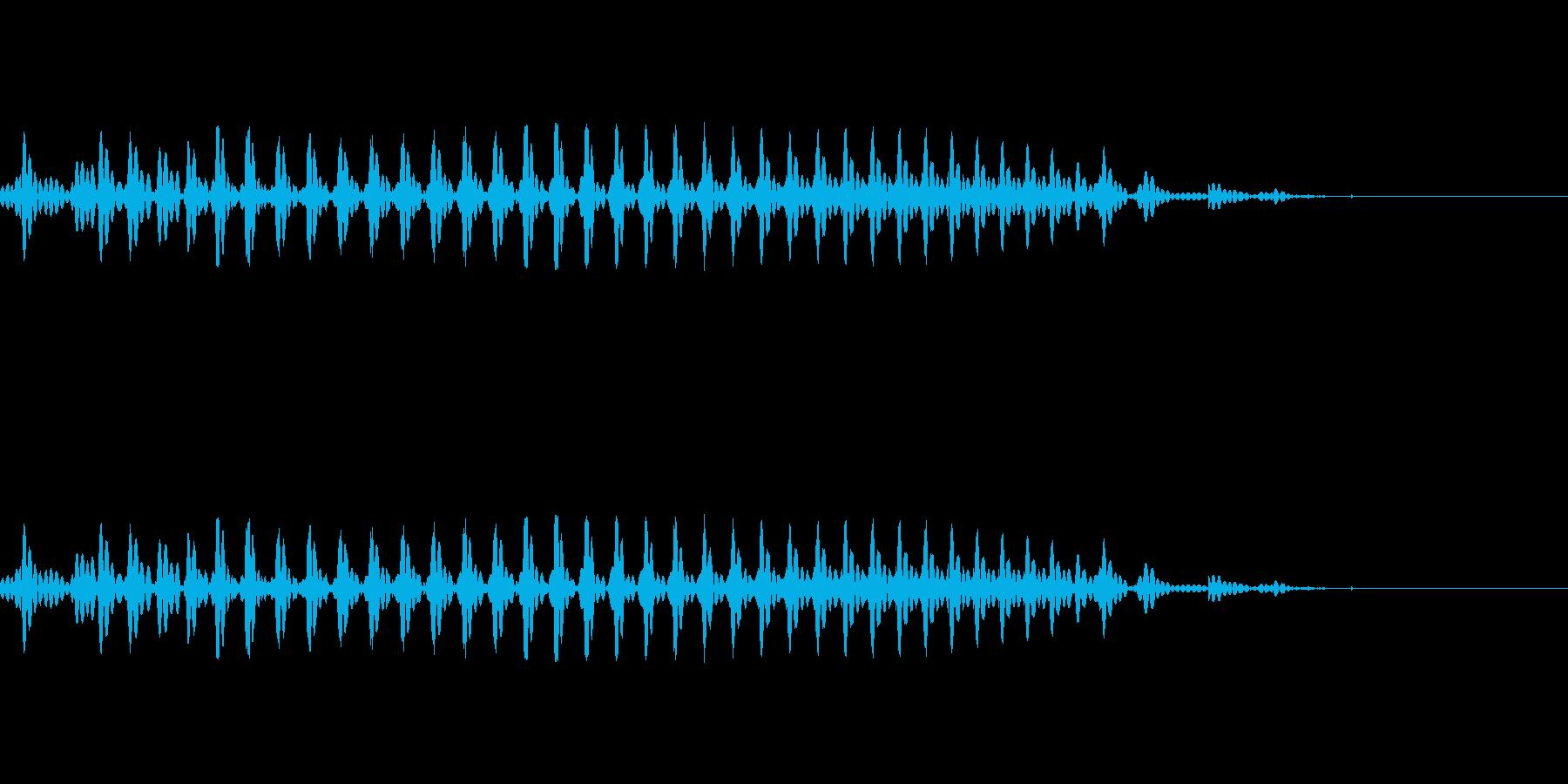 リン ゼロ(0) 中国語(北京語) 男の再生済みの波形
