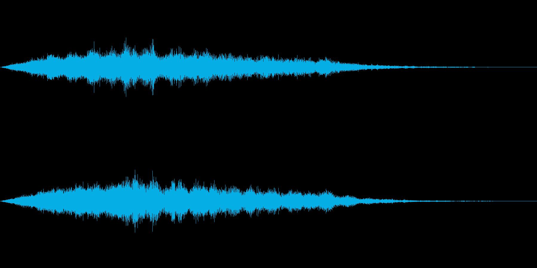 スペイシーな空間音 Aメジャーの再生済みの波形