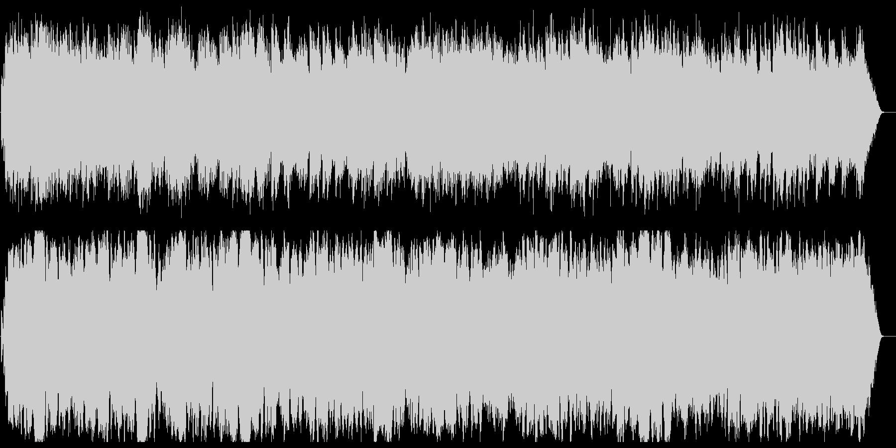 アメイジング・グレイスオルゴールStrの未再生の波形