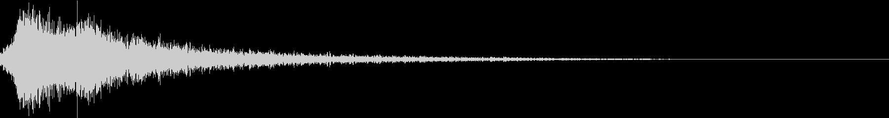 和風シャキン(テロップ,オリンピック等)の未再生の波形