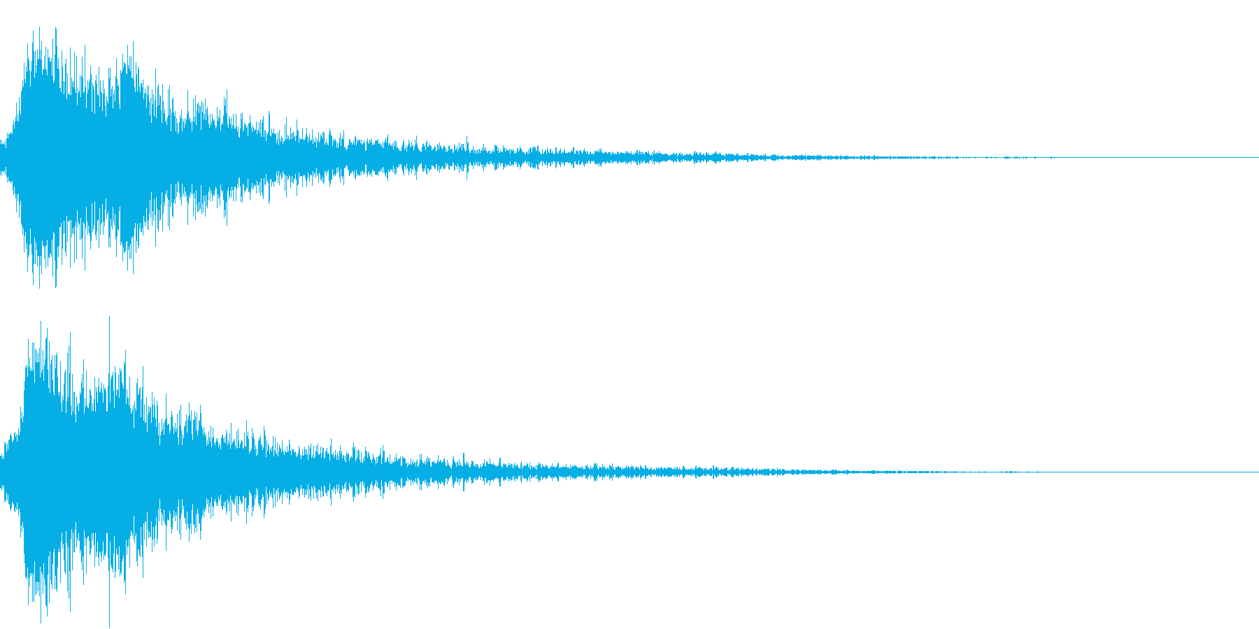 和風シャキン(テロップ,オリンピック等)の再生済みの波形