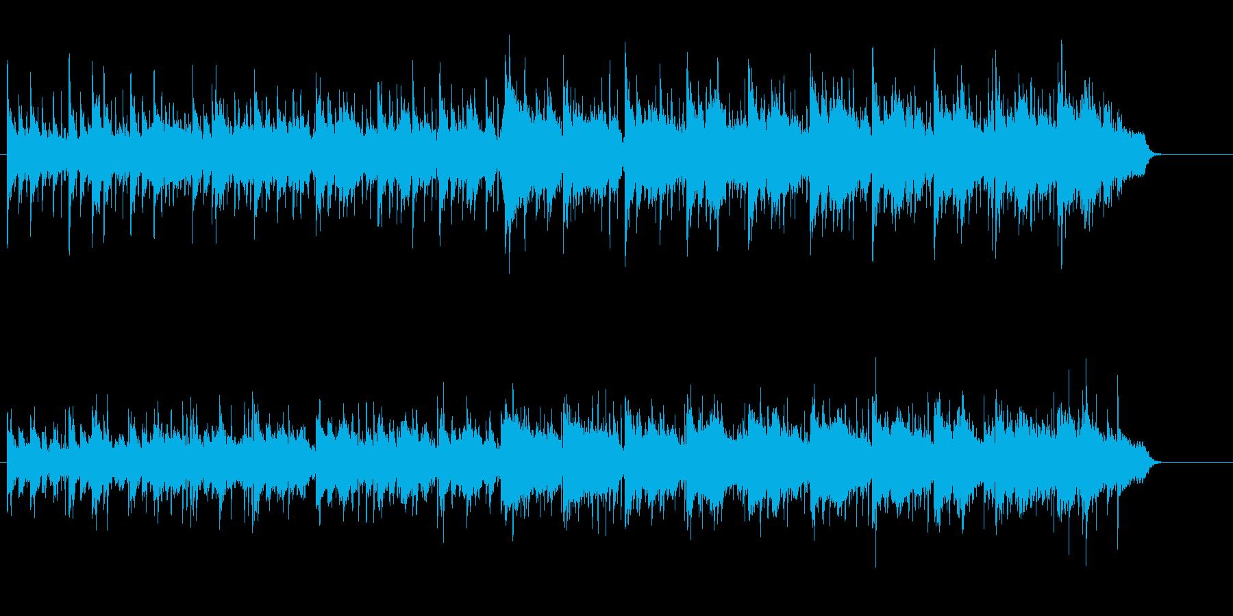 清涼なエスニック・サウンドの再生済みの波形