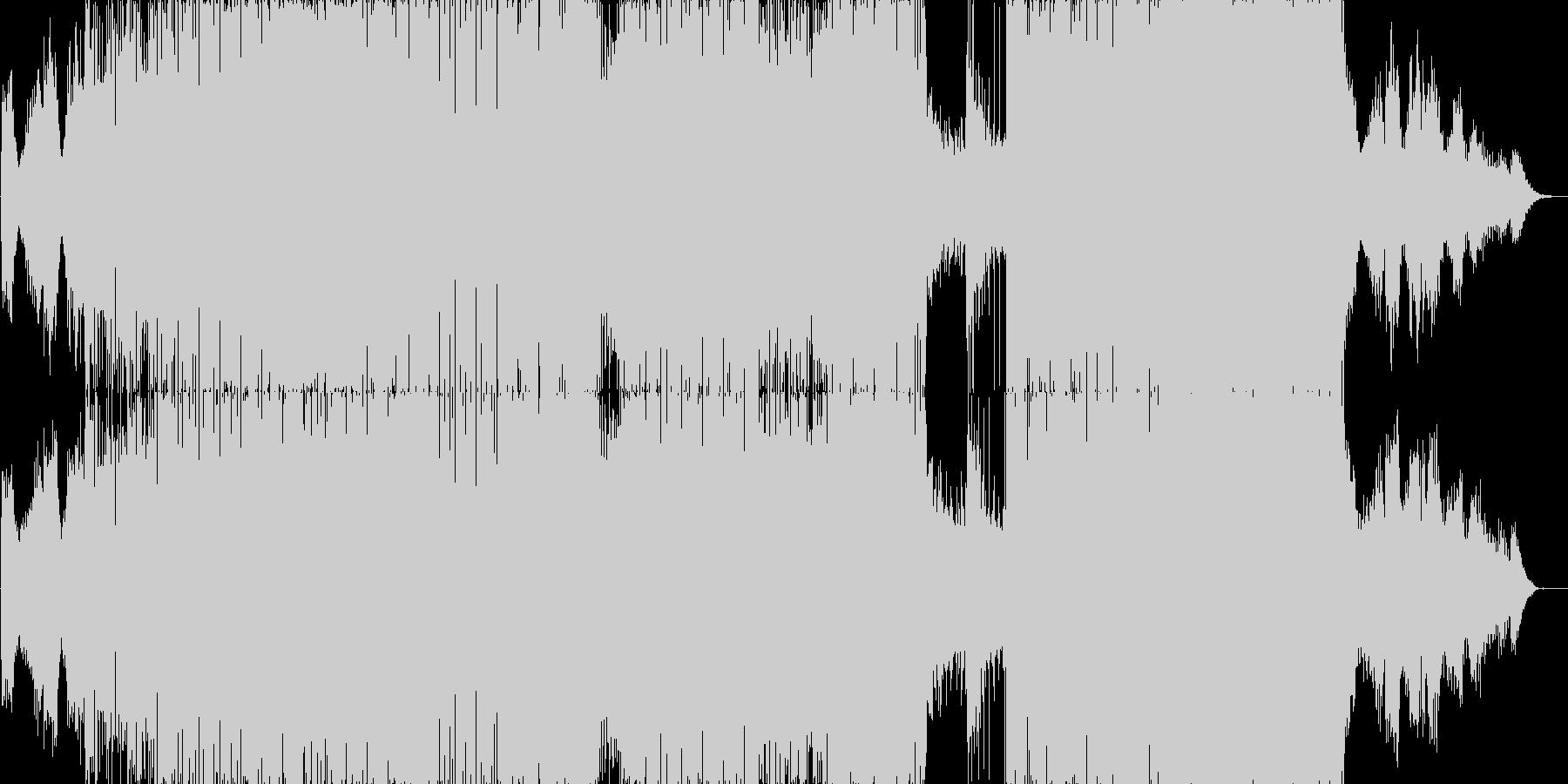 比較的アンビエントなサウンドで後半D&…の未再生の波形