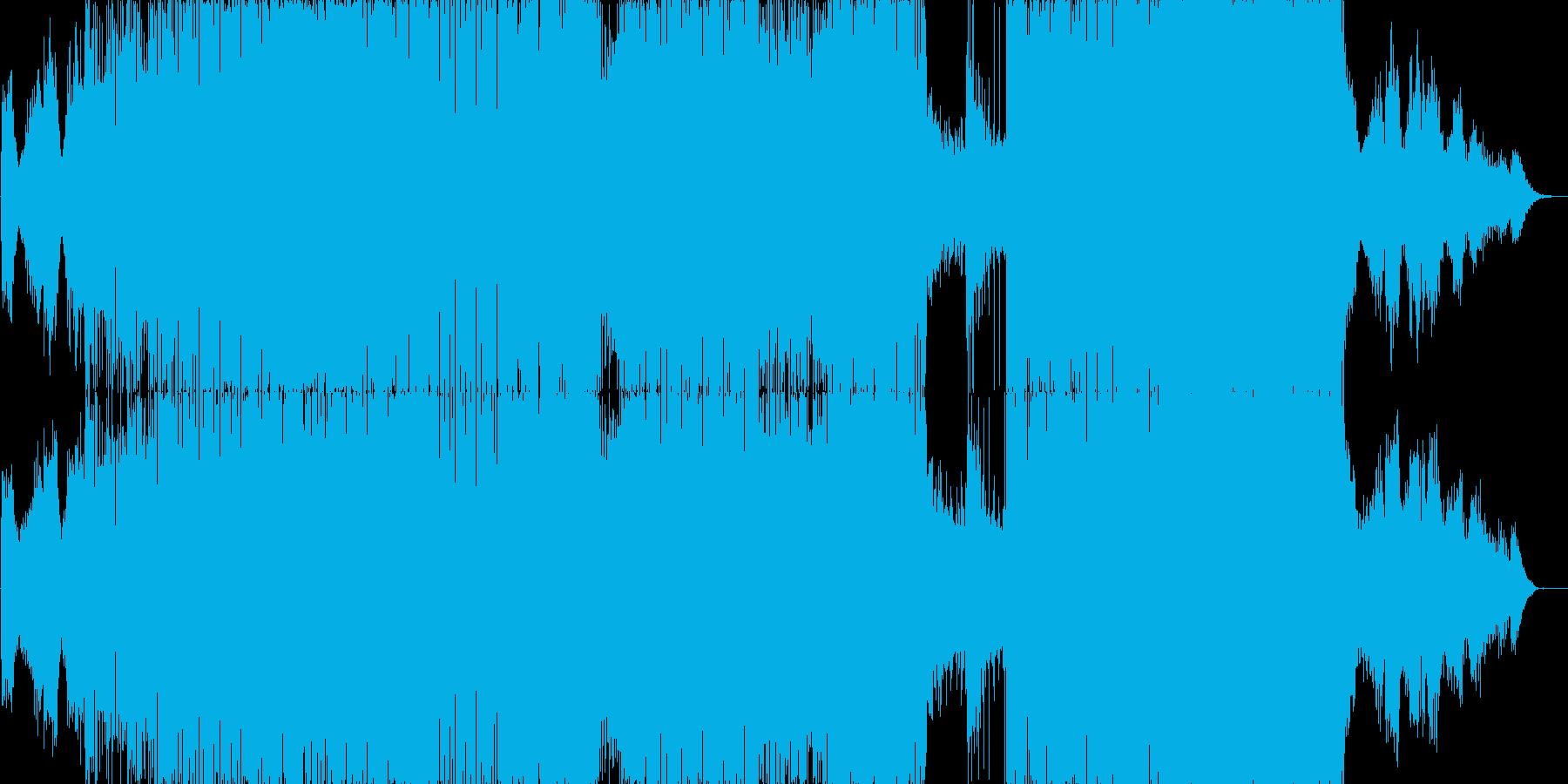 比較的アンビエントなサウンドで後半D&…の再生済みの波形