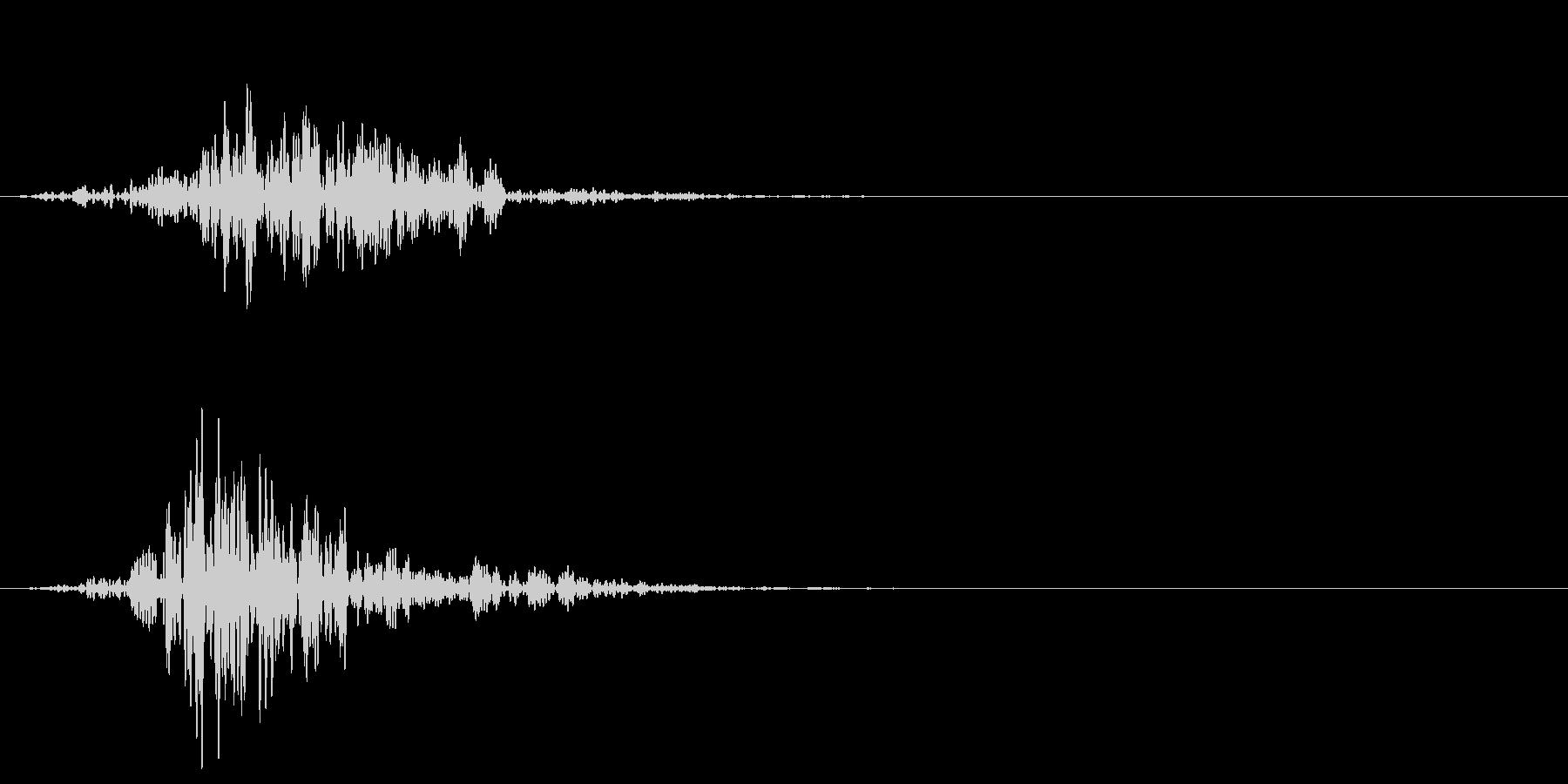 シネマティック 風切り インパクト!09の未再生の波形