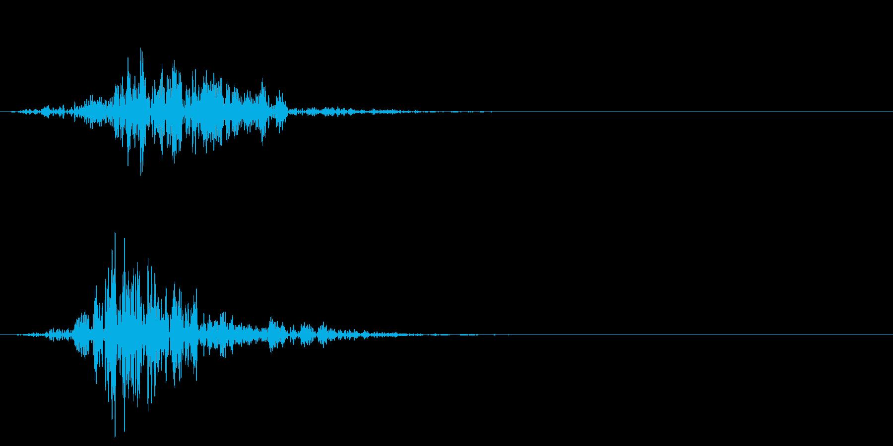 シネマティック 風切り インパクト!09の再生済みの波形