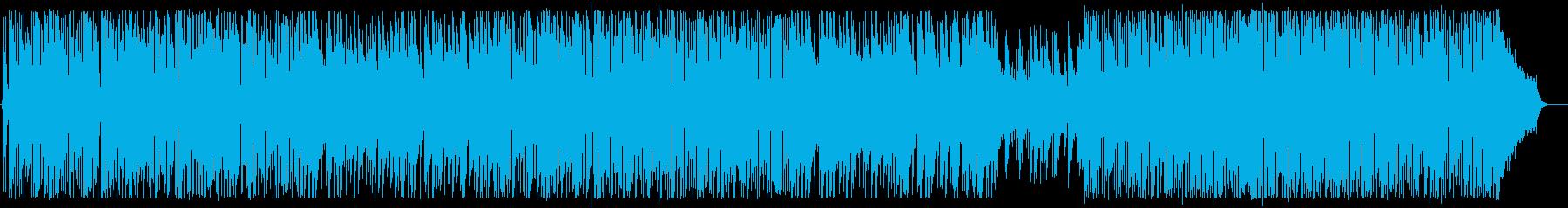 はじけるようなシンセサイザーポップの再生済みの波形