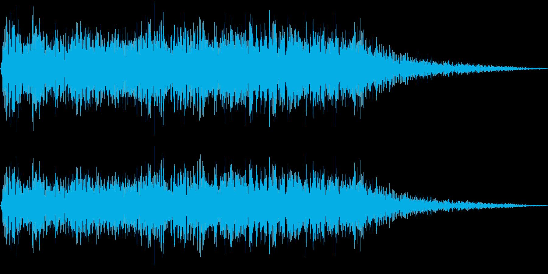 ロボット足音 タイプ2の再生済みの波形