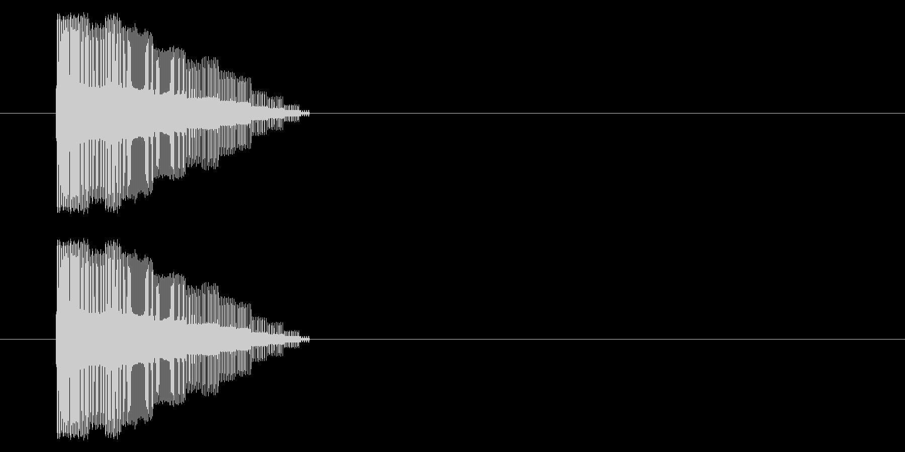 【NES 汎用01-05(ピッチ)】の未再生の波形
